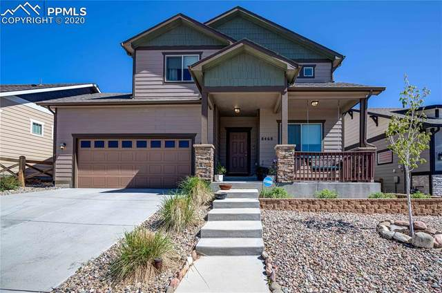 8468 Cypress Wood Drive, Colorado Springs, CO 80927 (#1555361) :: The Treasure Davis Team