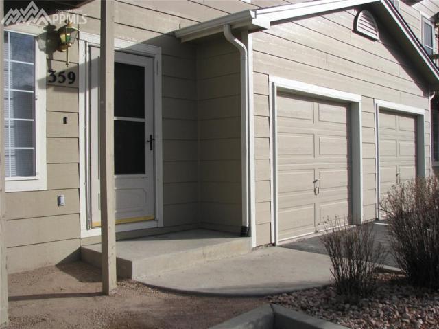 359 Kitfield View, Colorado Springs, CO 80916 (#1565025) :: RE/MAX Advantage
