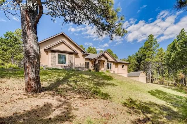 15424 Pole Pine Point, Colorado Springs, CO 80908 (#1589313) :: Venterra Real Estate LLC