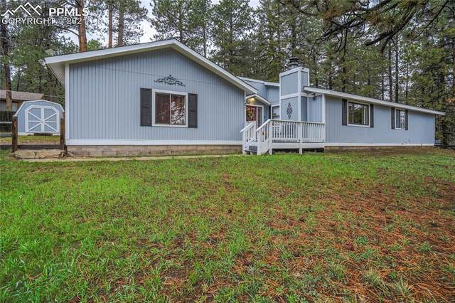 121 Montana Vista, Woodland Park, CO 80863 (#1592577) :: Fisk Team, eXp Realty