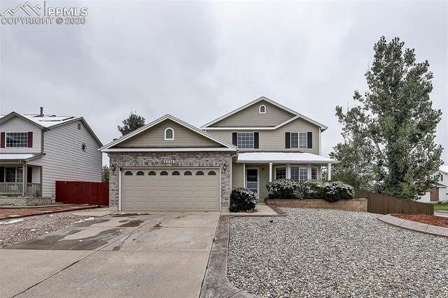 6524 La Plata Peak Drive, Colorado Springs, CO 80922 (#1596456) :: Action Team Realty