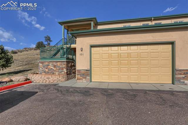 210 Eagle Summit Point #101, Colorado Springs, CO 80919 (#1607668) :: The Treasure Davis Team
