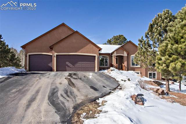 1280 Woodland Valley Ranch Road, Woodland Park, CO 80863 (#1613862) :: The Treasure Davis Team