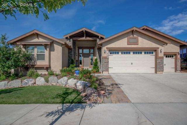 1448 Yellow Tail Drive, Colorado Springs, CO 80921 (#1630783) :: The Hunstiger Team
