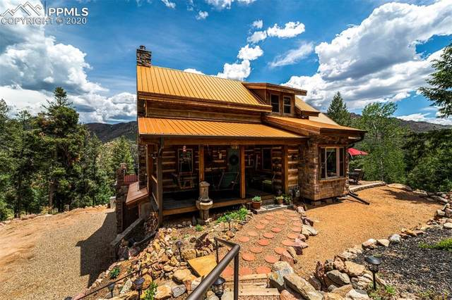 9140 Mountain Road, Cascade, CO 80809 (#1642770) :: Finch & Gable Real Estate Co.