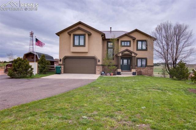 14950 Bear Gulch Street, Colorado Springs, CO 80908 (#1656829) :: The Hunstiger Team