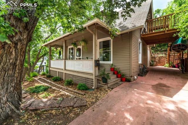 911 Prospect Place, Manitou Springs, CO 80829 (#1665892) :: Tommy Daly Home Team