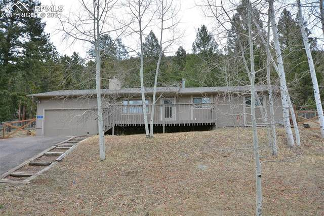1191 Forest Edge Road, Woodland Park, CO 80863 (#1683723) :: The Daniels Team