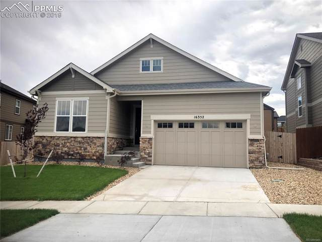 16352 E 100th Way, Commerce City, CO 80022 (#1692698) :: CC Signature Group