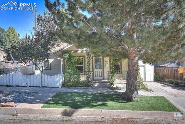 530 W Boulder Street, Colorado Springs, CO 80905 (#1699113) :: The Peak Properties Group