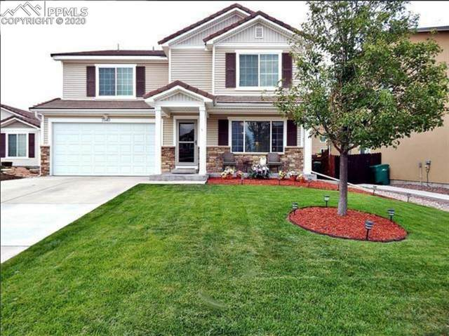 7540 Short Grass Court, Colorado Springs, CO 80915 (#1714195) :: Tommy Daly Home Team