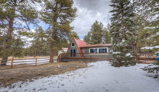 27636 Triple B Road, Woodland Park, CO 80863 (#1738310) :: Tommy Daly Home Team