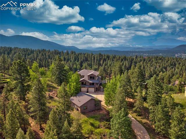 2752 Woody Creek Court, Woodland Park, CO 80863 (#1743630) :: Tommy Daly Home Team