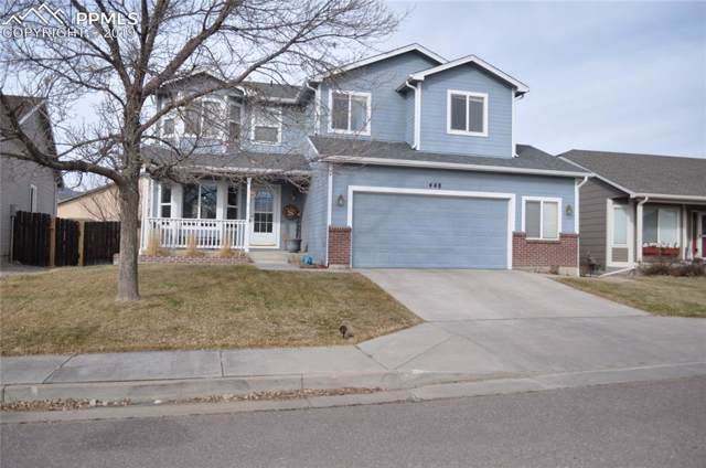 448 Gold Claim Terrace, Colorado Springs, CO 80905 (#1785340) :: The Kibler Group