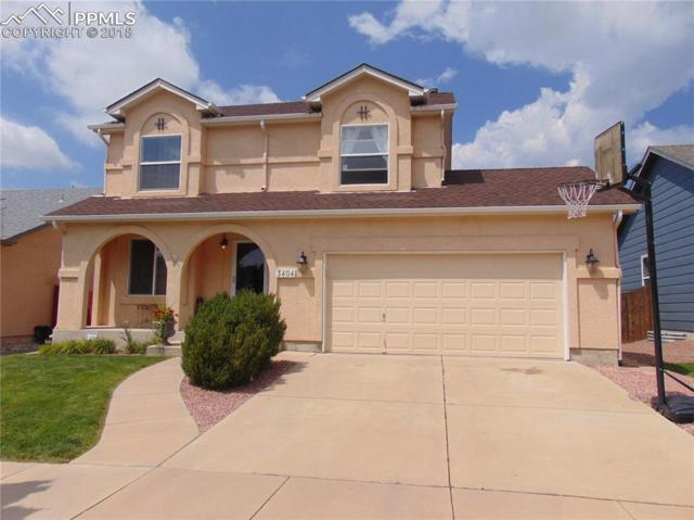 3404 Viero Drive, Colorado Springs, CO 80916 (#1786186) :: The Treasure Davis Team