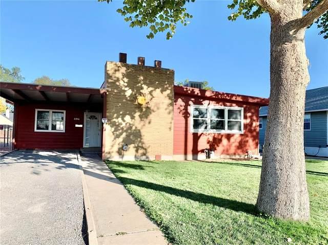606 S Prairie Avenue, Pueblo, CO 81005 (#1809824) :: Tommy Daly Home Team