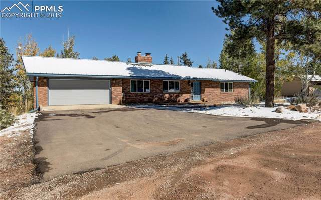 175 Piney Point Lane, Woodland Park, CO 80863 (#1820779) :: Tommy Daly Home Team