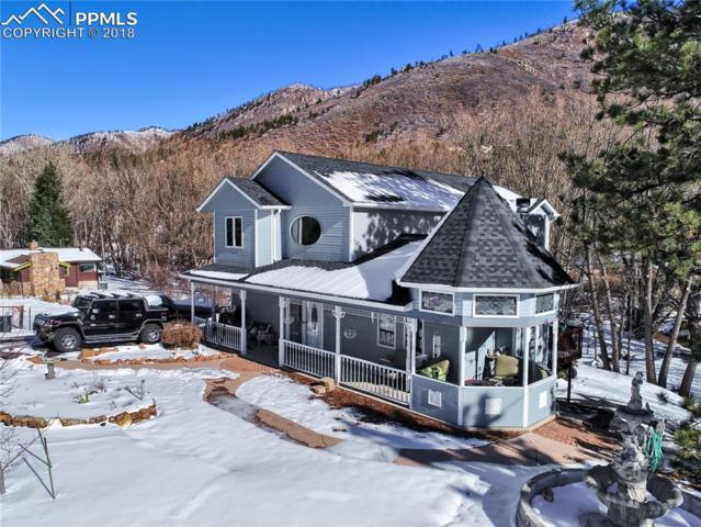 8302 Chipita Park Road, Cascade, CO 80809 (#1832940) :: The Treasure Davis Team