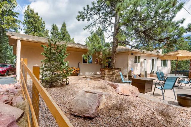481 Shady Lane, Woodland Park, CO 80863 (#1836221) :: The Peak Properties Group