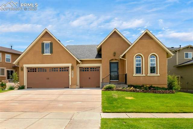 8543 W Winding Passage Drive, Colorado Springs, CO 80924 (#1852513) :: The Harling Team @ Homesmart Realty Group