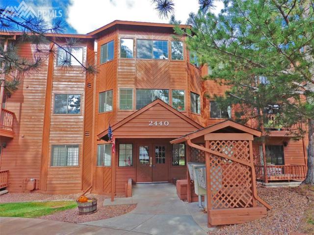 2440 Palmer Park Boulevard #106, Colorado Springs, CO 80909 (#1860344) :: Jason Daniels & Associates at RE/MAX Millennium