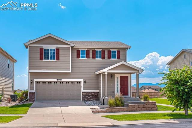 7485 Forest Falcon View, Colorado Springs, CO 80922 (#1874627) :: The Daniels Team