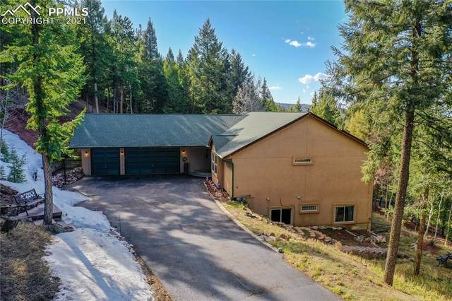 1421 Crestview Way, Woodland Park, CO 80863 (#1879187) :: Finch & Gable Real Estate Co.