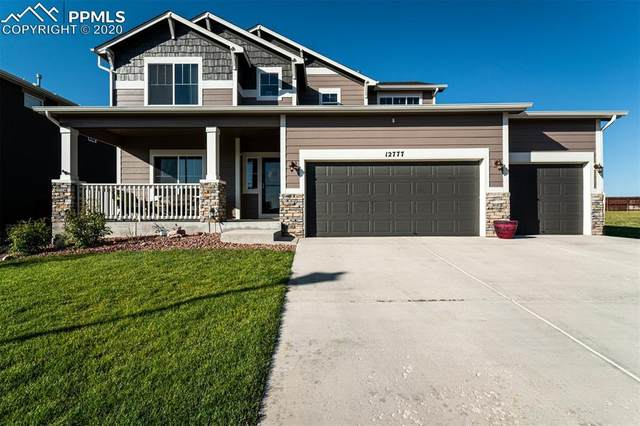 12777 Sunlight Peak Place, Peyton, CO 80831 (#1907900) :: Tommy Daly Home Team