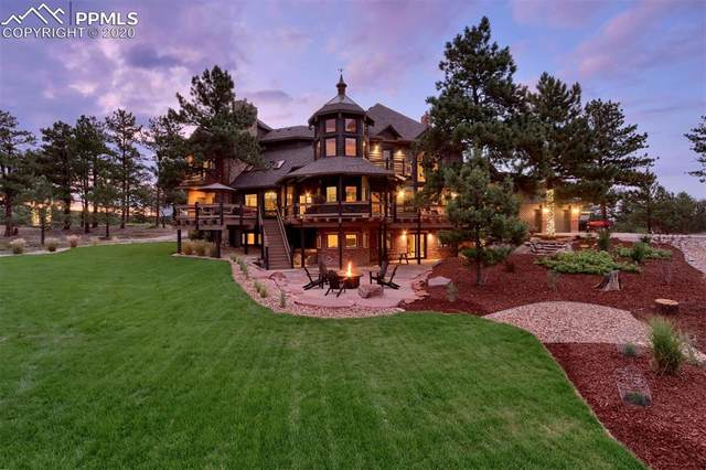 5580 Elk View Court, Larkspur, CO 80118 (#1921663) :: Tommy Daly Home Team