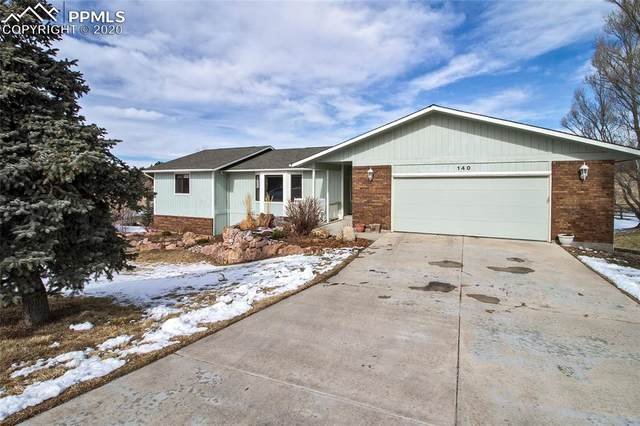 140 Mission Hill Way, Colorado Springs, CO 80921 (#1928352) :: The Harling Team @ Homesmart Realty Group