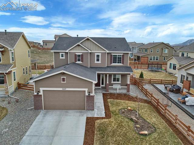 2669 Lake Of The Rockies Drive, Monument, CO 80132 (#1946370) :: The Harling Team @ HomeSmart