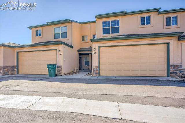 281 Eagle Summit Point #103, Colorado Springs, CO 80919 (#1950875) :: The Daniels Team