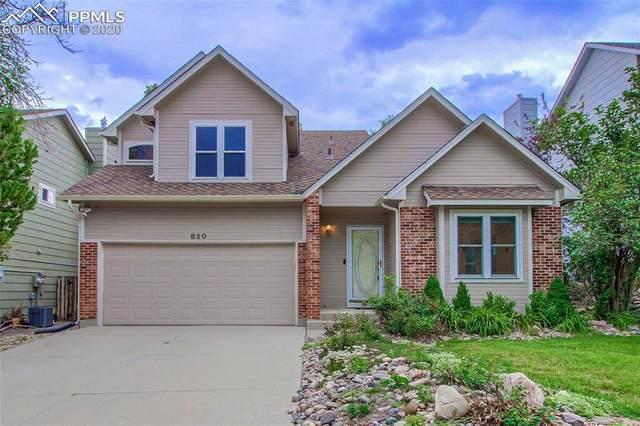 820 Wycliffe Drive, Colorado Springs, CO 80906 (#1965141) :: Venterra Real Estate LLC