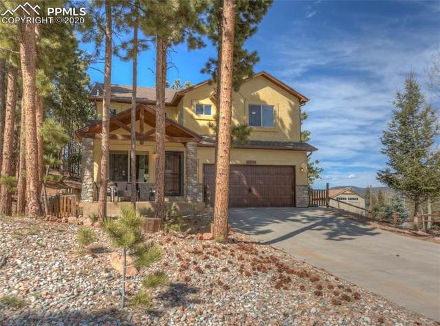 1527 Crestview Way, Woodland Park, CO 80863 (#1978907) :: Finch & Gable Real Estate Co.
