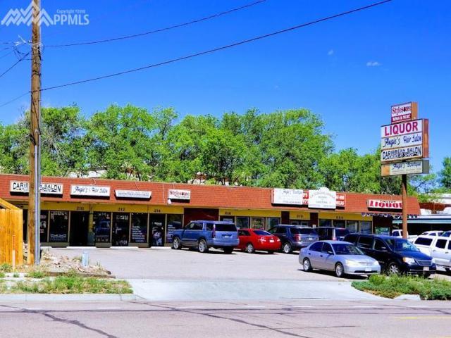 208 N Chelton Road 208-220, Colorado Springs, CO 80909 (#2002629) :: Colorado Home Finder Realty