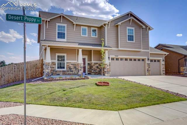 9587 Desert Poppy Lane, Colorado Springs, CO 80925 (#2005233) :: The Treasure Davis Team