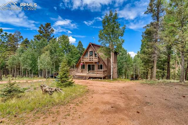 761 Pinewood Road, Florissant, CO 80816 (#2027175) :: Fisk Team, RE/MAX Properties, Inc.