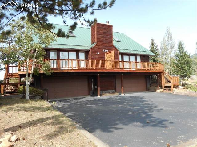 950 Ponderosa Way A & B, Woodland Park, CO 80863 (#2056653) :: CC Signature Group
