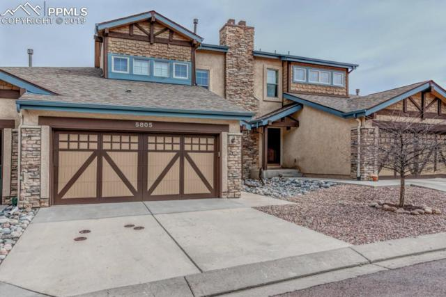 5805 Canyon Reserve Heights, Colorado Springs, CO 80919 (#2090334) :: The Treasure Davis Team