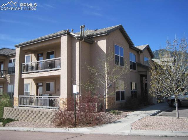 605 Cougar Bluff Point #109, Colorado Springs, CO 80906 (#2121831) :: The Treasure Davis Team