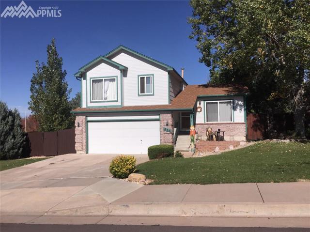835 Calliope Court, Colorado Springs, CO 80916 (#2150232) :: The Treasure Davis Team