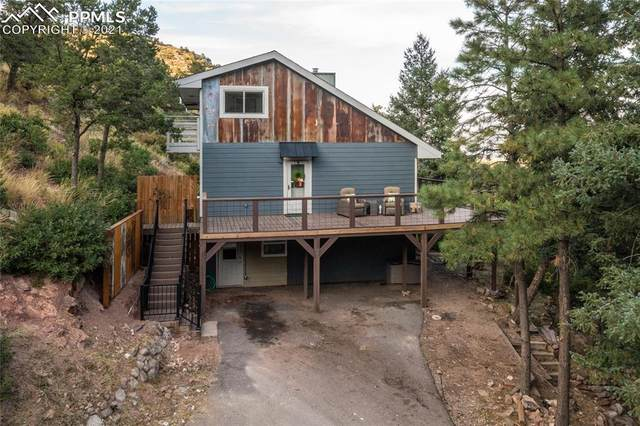 814 Crystal Park Road, Manitou Springs, CO 80829 (#2152094) :: Tommy Daly Home Team