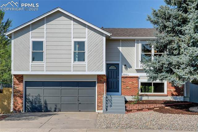 3240 Post Oak Drive, Colorado Springs, CO 80916 (#2154741) :: Finch & Gable Real Estate Co.