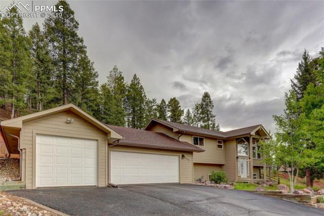 1441 Crestview Way, Woodland Park, CO 80863 (#2160559) :: Jason Daniels & Associates at RE/MAX Millennium
