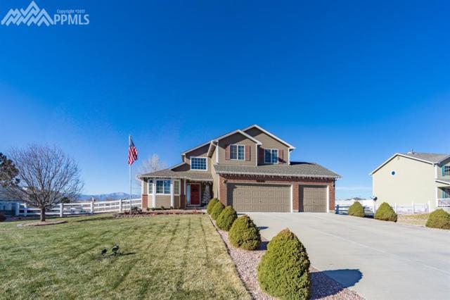 7696 Bullet Road, Peyton, CO 80831 (#2162545) :: The Peak Properties Group