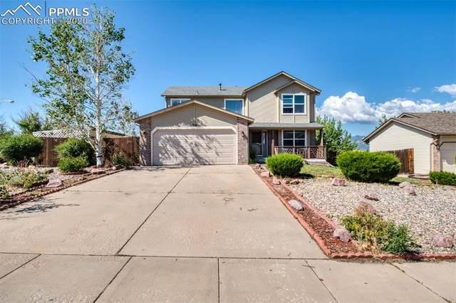 710 Pennington Drive, Colorado Springs, CO 80911 (#2165001) :: The Treasure Davis Team