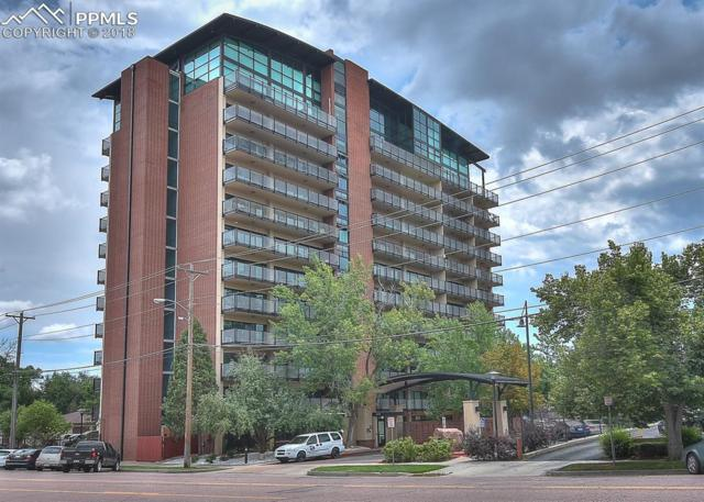 417 E Kiowa Street #703, Colorado Springs, CO 80903 (#2167608) :: Harling Real Estate