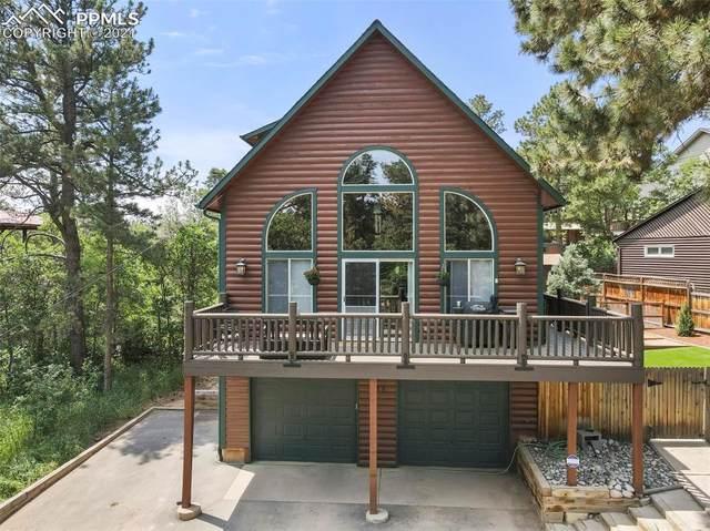 155 Virginia Avenue, Palmer Lake, CO 80133 (#2179824) :: Finch & Gable Real Estate Co.