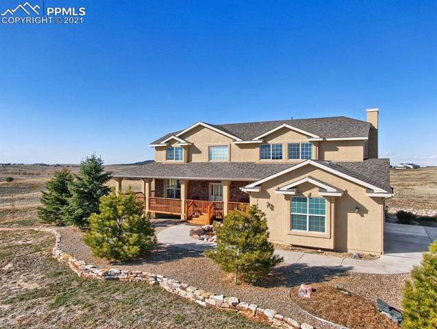 17080 Trail Blazer Court, Colorado Springs, CO 80908 (#2205607) :: The Treasure Davis Team | eXp Realty