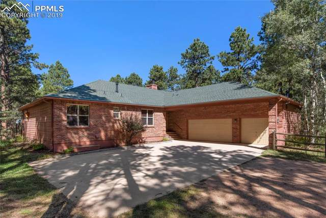 8190 Bar X Road, Colorado Springs, CO 80908 (#2213333) :: Action Team Realty